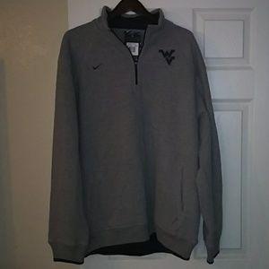 Nike WVU Quarter-Zip Sweatshirt